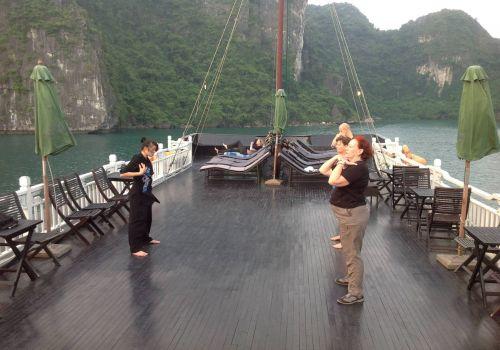 Elizabeth Cruise-Tai Chi exercise